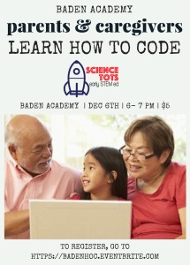 Parents & grandparents can learn to code!